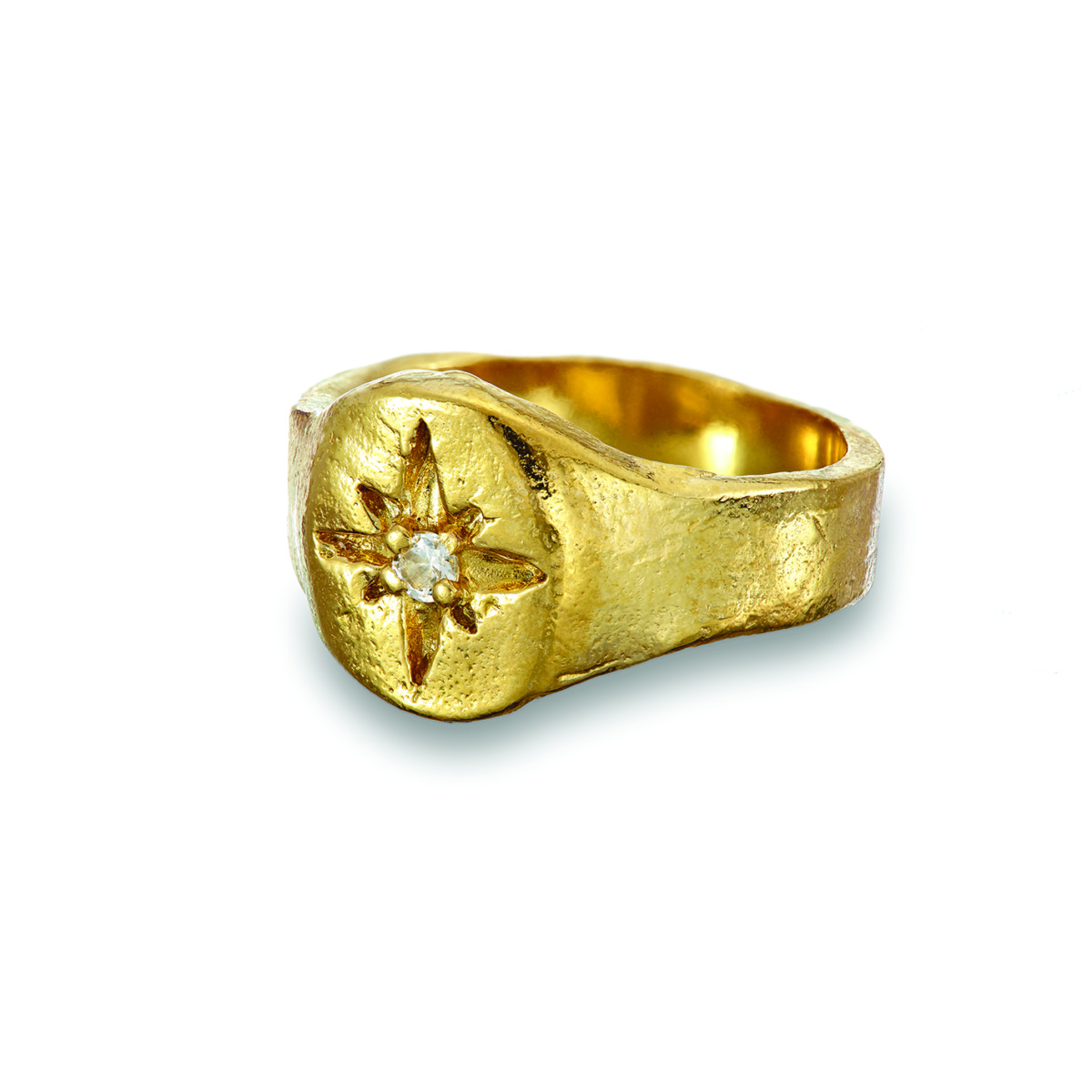 Chupi Print Gold Ring Your North Star 2