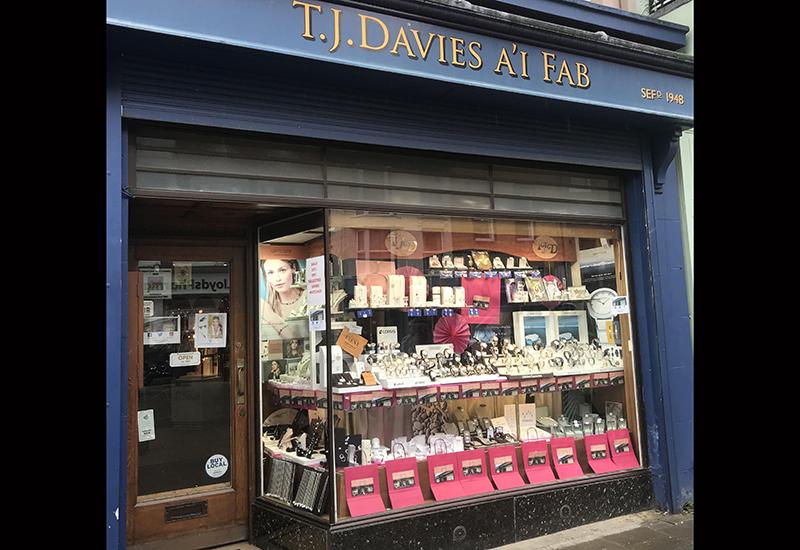 Henryka stockist T. J. Davies & Sons in Aberystwyth, Wales.