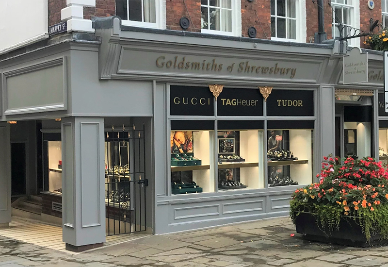 goldsmiths of shrewsbury