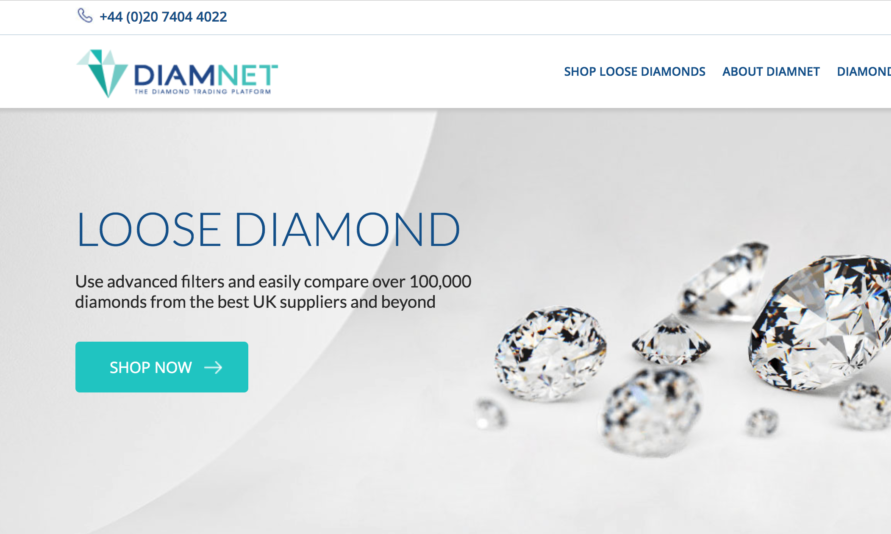 Diamnet screen shot