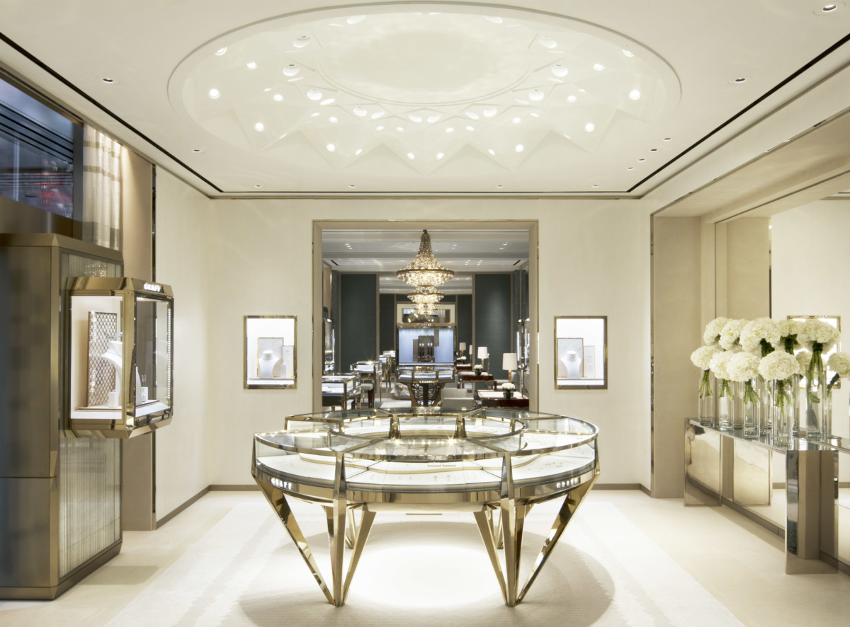 The Graff New Flagship Store in Hong Kong Central, the Bridal Jewellery …