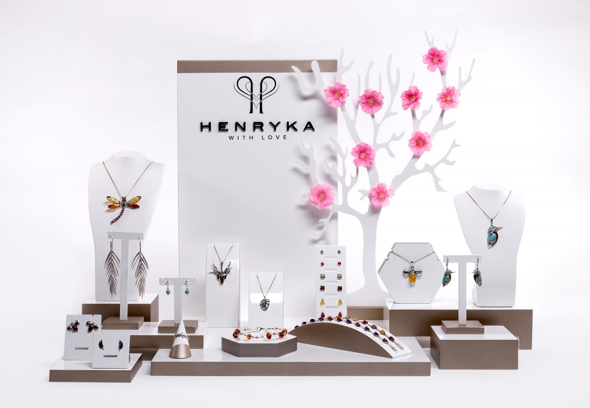 Henryka NEW Bespoke Point of Sale Display – February 2019 – CMJ Buying Event Preview