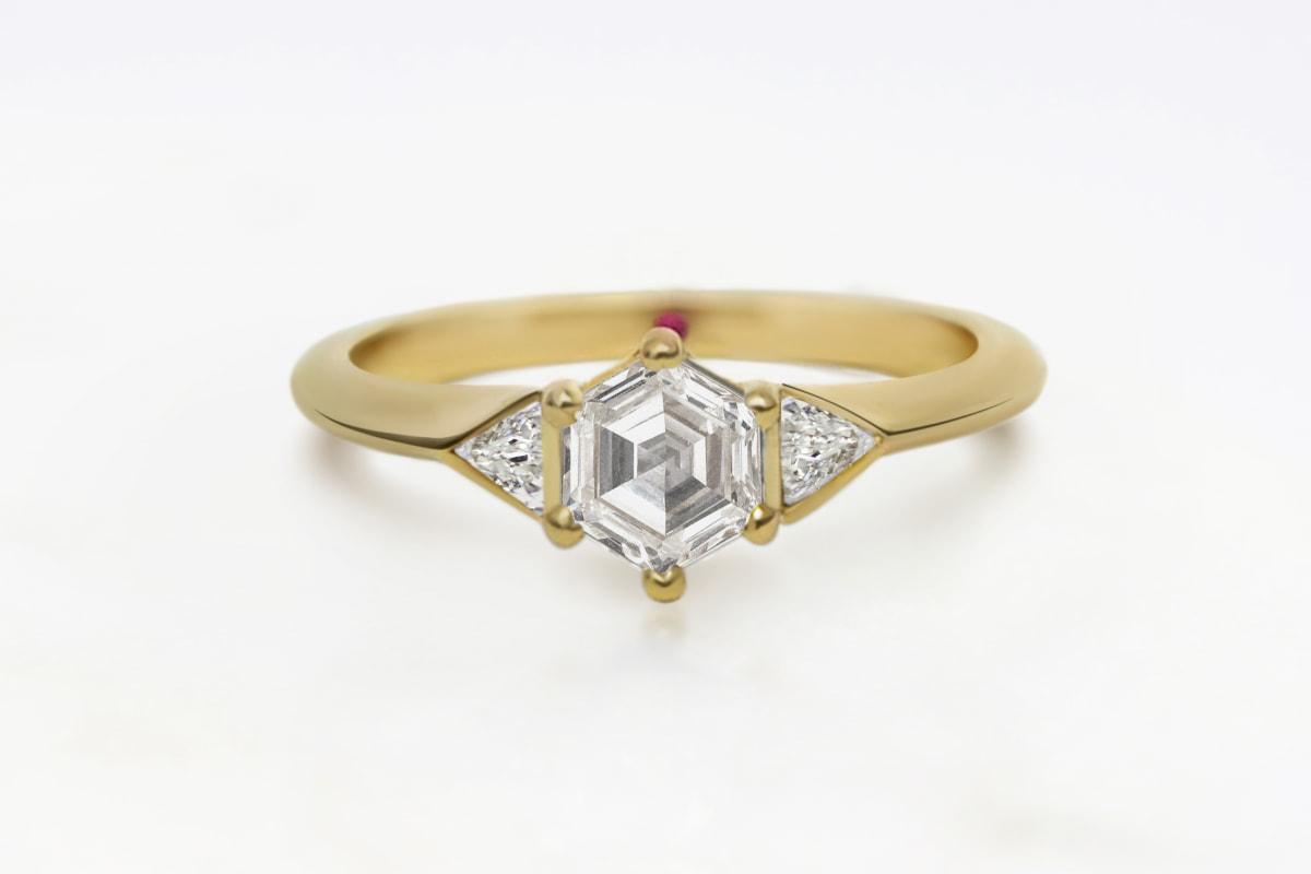 everledger hexagon diamond ring (2)