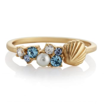 Olivia Burton Under the Sea Gold Ring £45