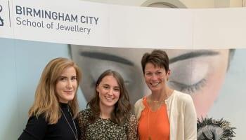Anna Burkett, Megan Watkins and Fabulous Owner, Jo Stroud