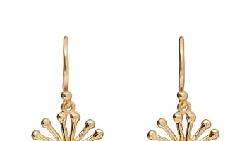 Sunrise Gold Earrings