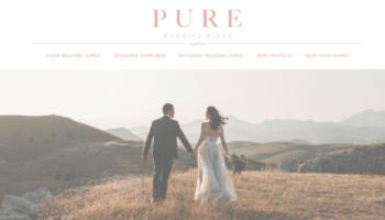 Pure web screenshot