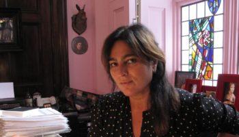 Keynote Speaker Solange Azagury-Partridge in her studio