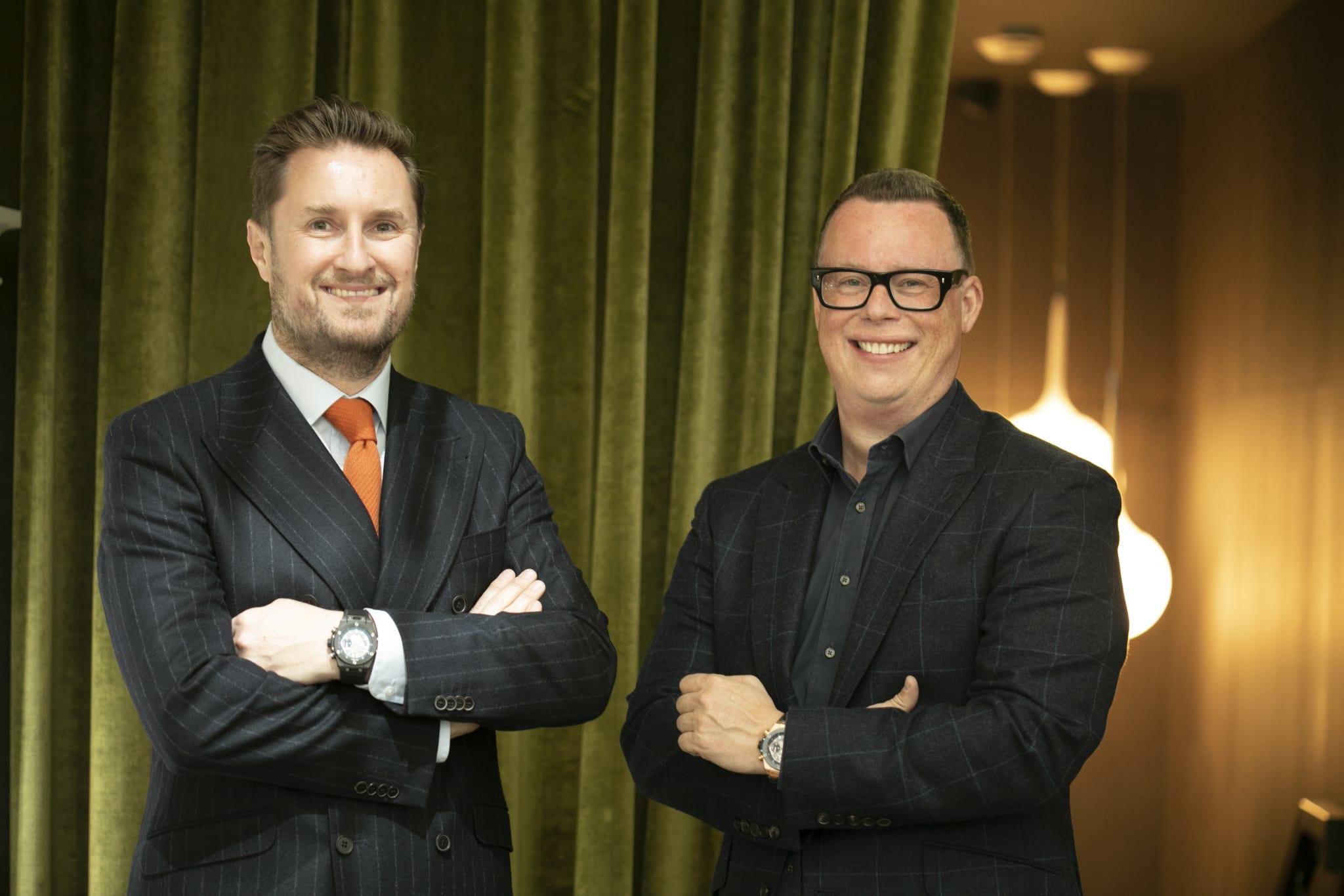 Kyron Keogh & Grant Mitchell