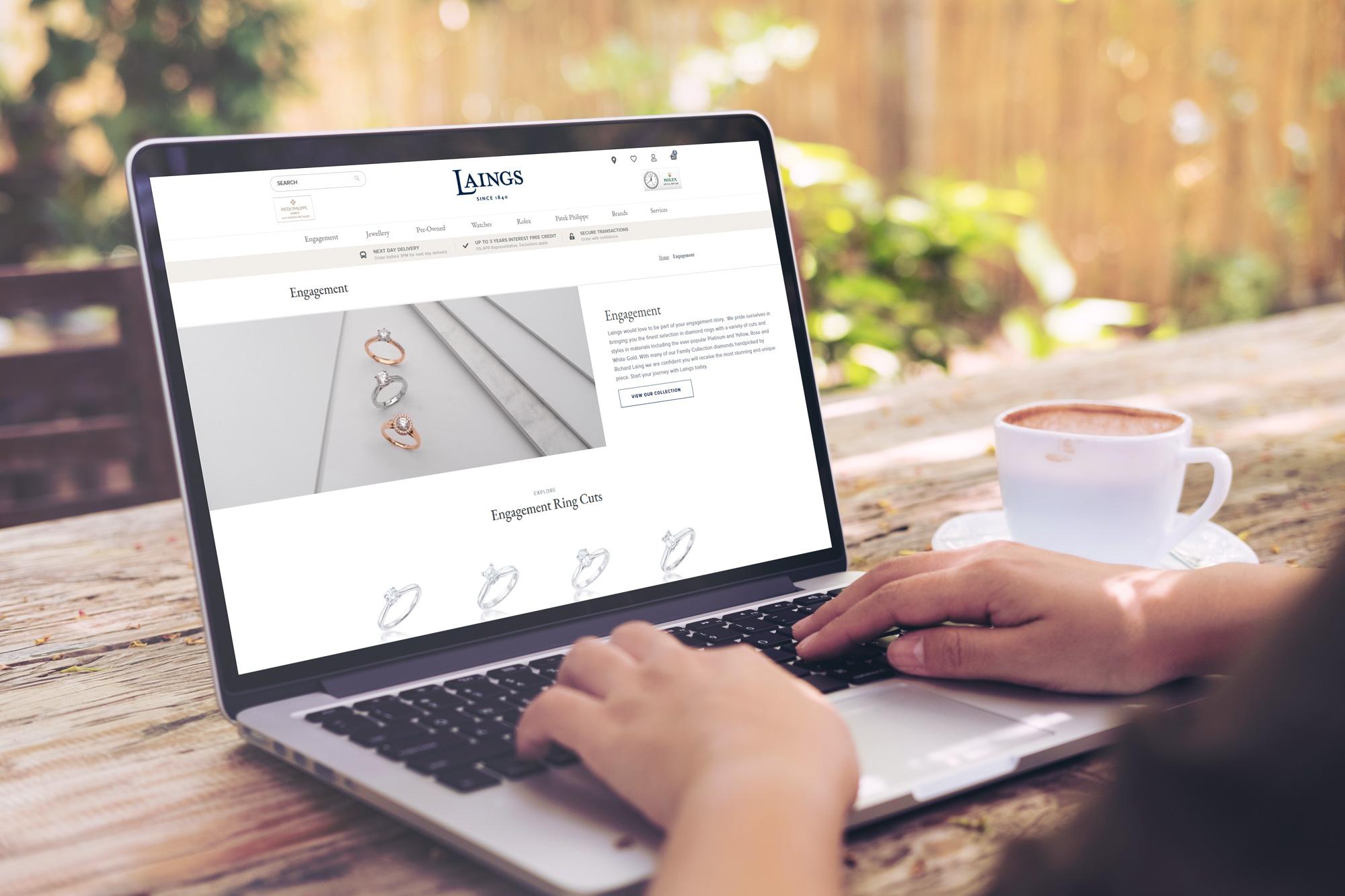 Laings New Website