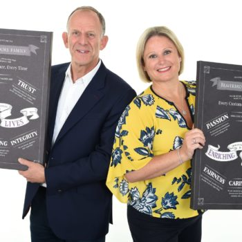 Mark Adlestone & Anna Blackburn with The Beaverbrooks Way