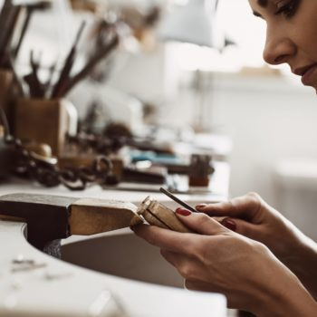 female jeweller
