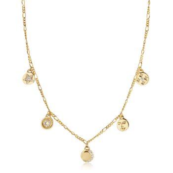Sif Jakobs Jewellery – PORTOFINO NECKLACE-N61917-CZSG