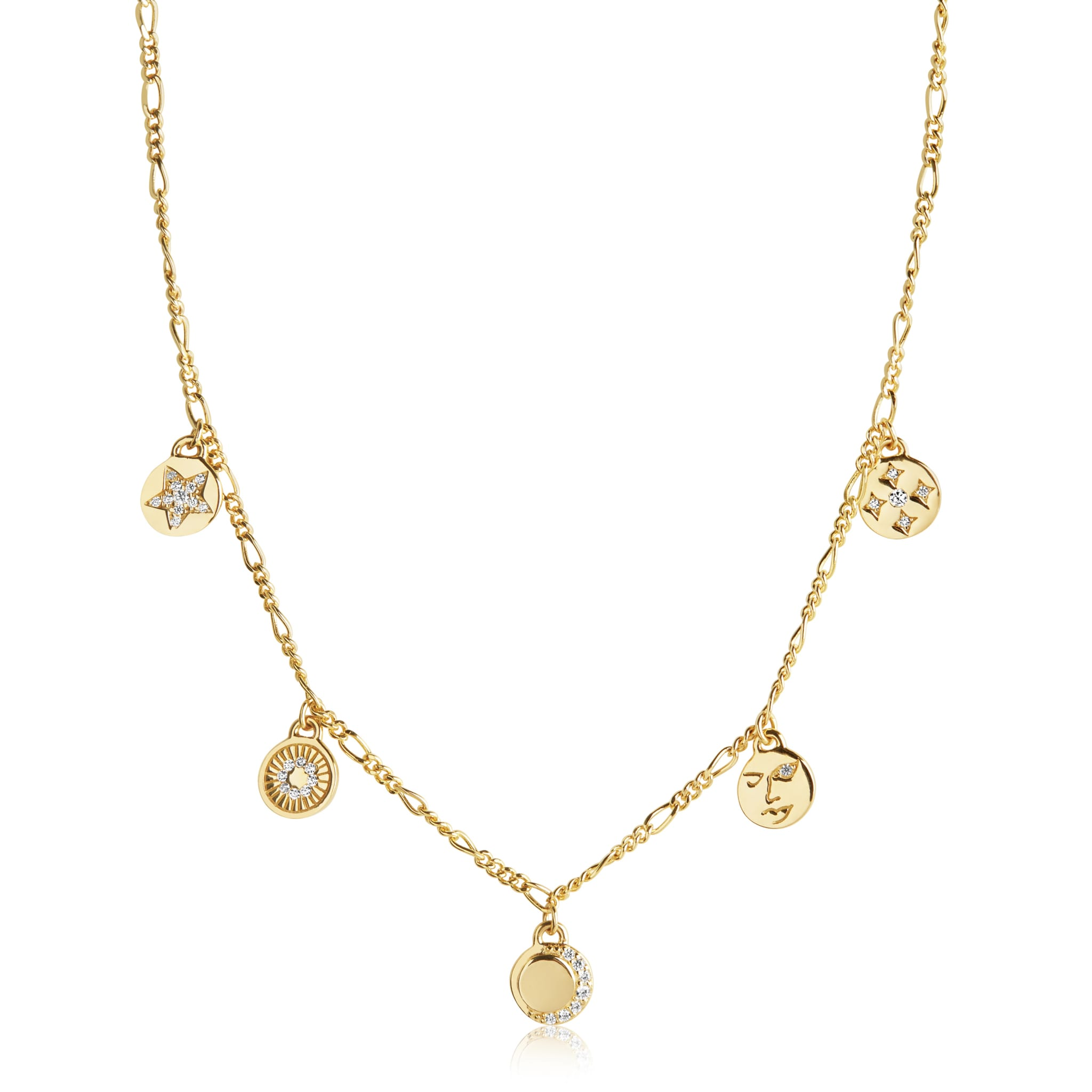 Sif Jakobs Jewellery – PORTOFINO NECKLACE-N61917-CZSG