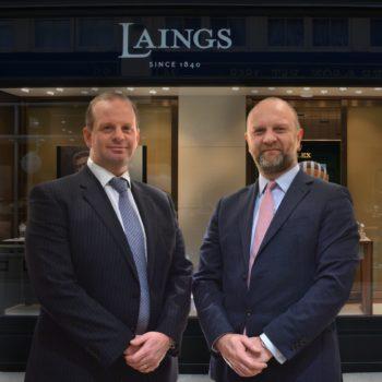 Joe Walsh CEO and Stuart McDowell Retail Director