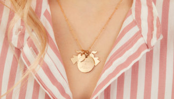 Merci Maman Personalised Duchess Necklace from £129