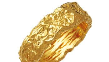 11028_Petra Big Bangle Goldplated
