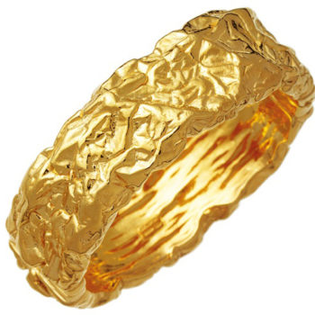 11028_Petra Big Bangle Goldplated