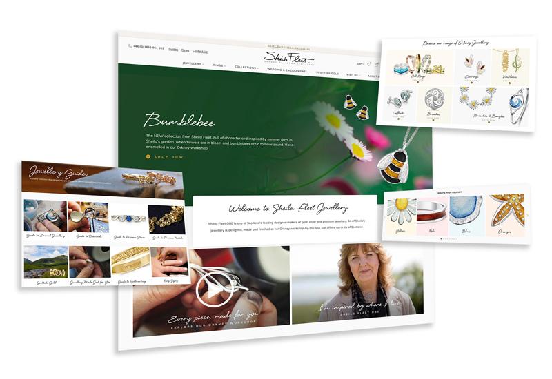 Sheila Fleet website