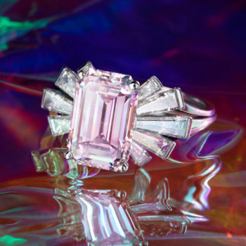 A FANCY PINK DIAMOND AND DIAMOND RING, BY Meister, circa 1968 £ 550,000 – 750,000