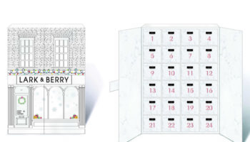 Lark & Berry Advent Calendar Box both