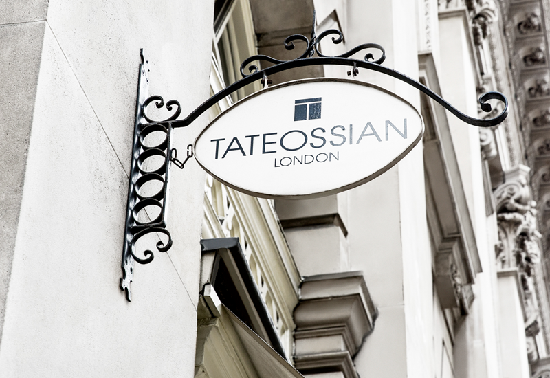 Tateossian launches new website as it marks 30th anniversary