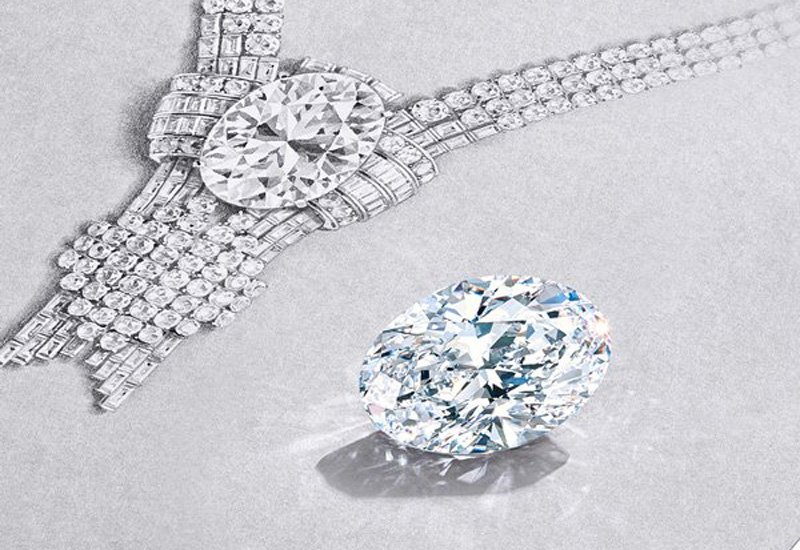 Tiffany to sell its largest ever stone with 80-carat diamond necklace