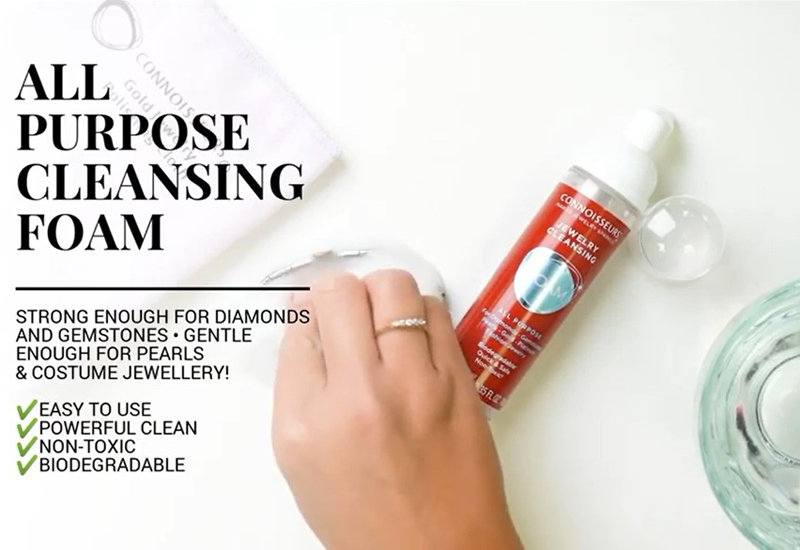 VIDEO: Cleansing Foam by Connoisseurs UK