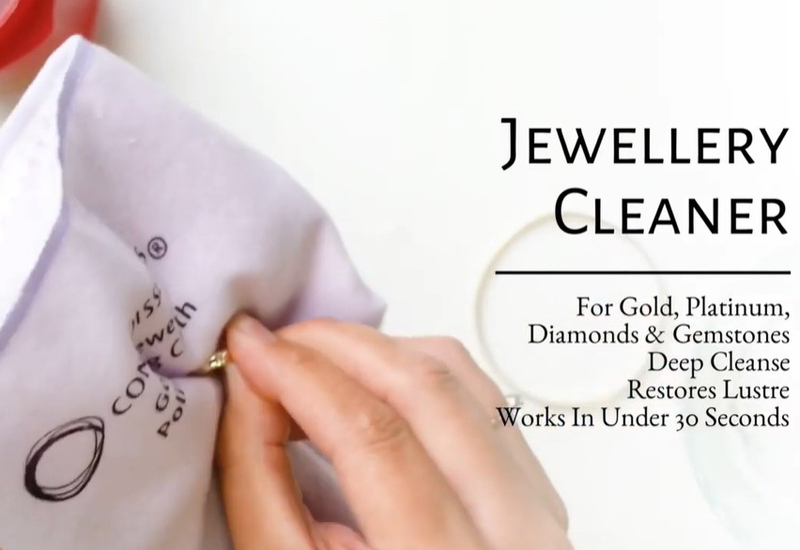 VIDEO: Jewellery Cleaner by Connoisseurs UK
