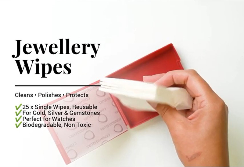VIDEO: Jewellery Wipes by Connoisseurs UK