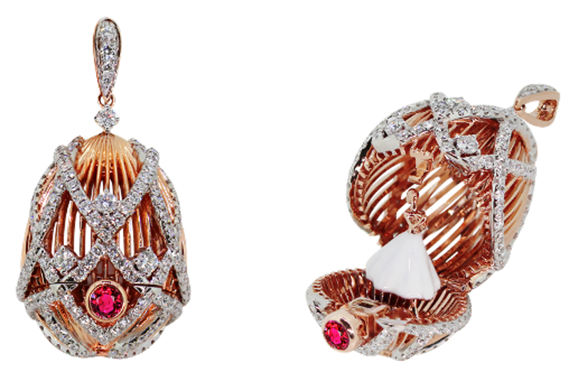 Simone Jewels releases Fabergé egg as part of 15th anniversary From Russia with Love collection