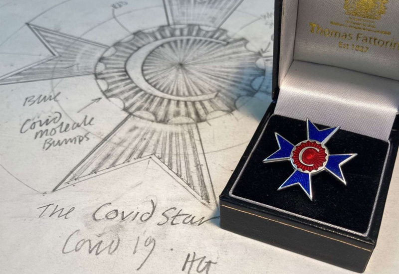 Birmingham jewellers to produce 'people's medals' for NHS pandemic workers