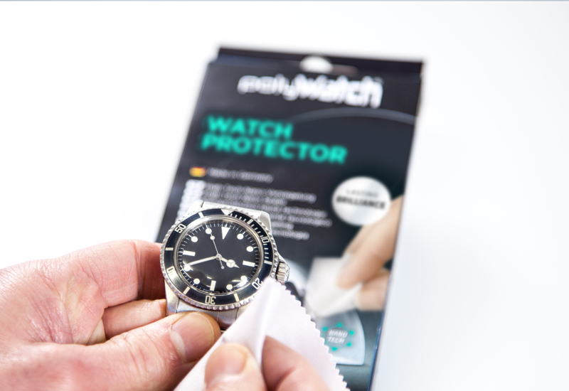 PolyWatch polish freshens up traditional and digital timepieces