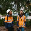 Colleagues at Jwaneng Mine, Botswana
