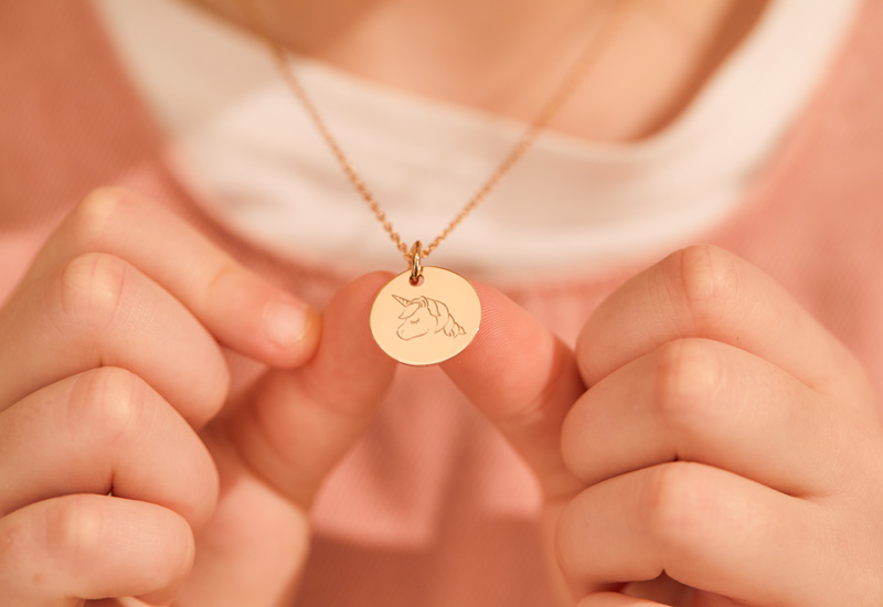 Merci Maman My Little Illustration Necklace From $99_ £79_€79