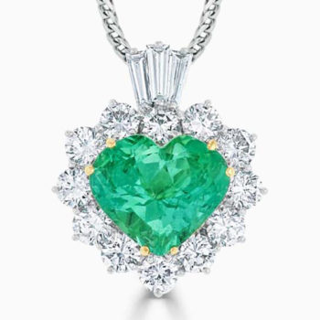 emerald necklace steven stone