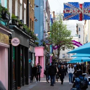 footfall retail high street