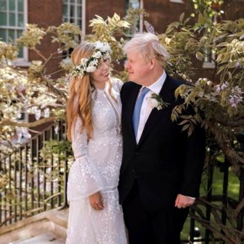 Boris Johnson Carrie Symonds wedding
