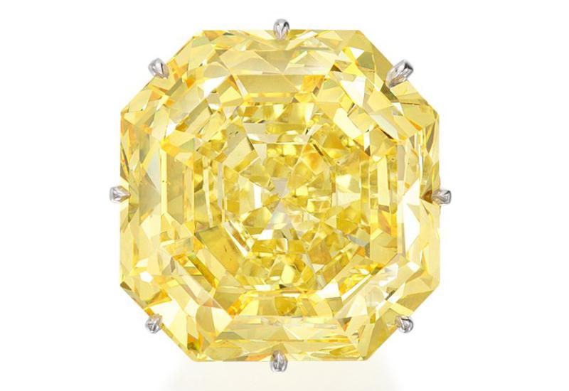 fancy yellow diamond sotheby's