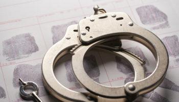 handcuffs arrested