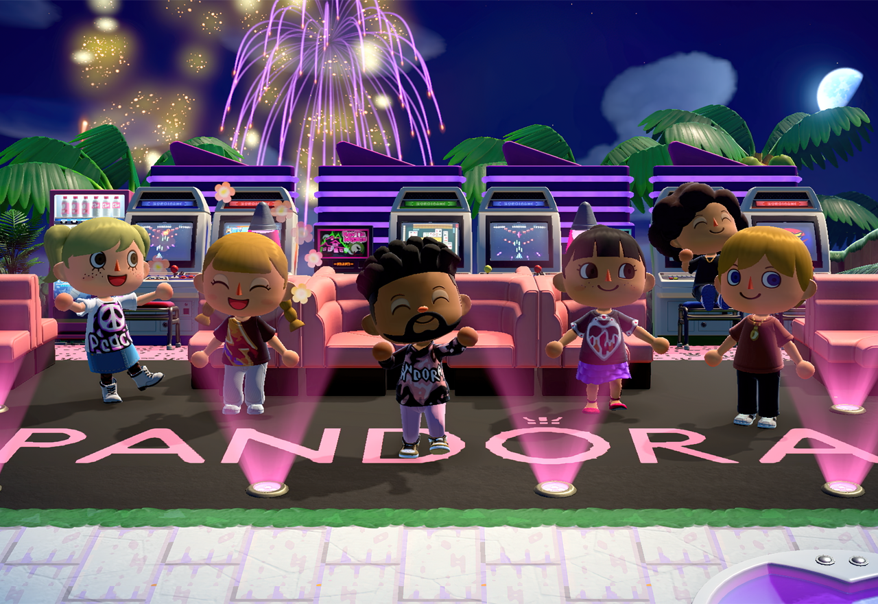 Pandora takes first dive into video gaming with Animal Crossing: New Horizons partnership