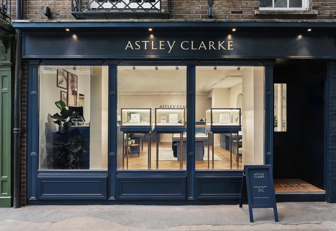 Astley Clarke debuts first brick-and-mortar site at London's Seven Dials