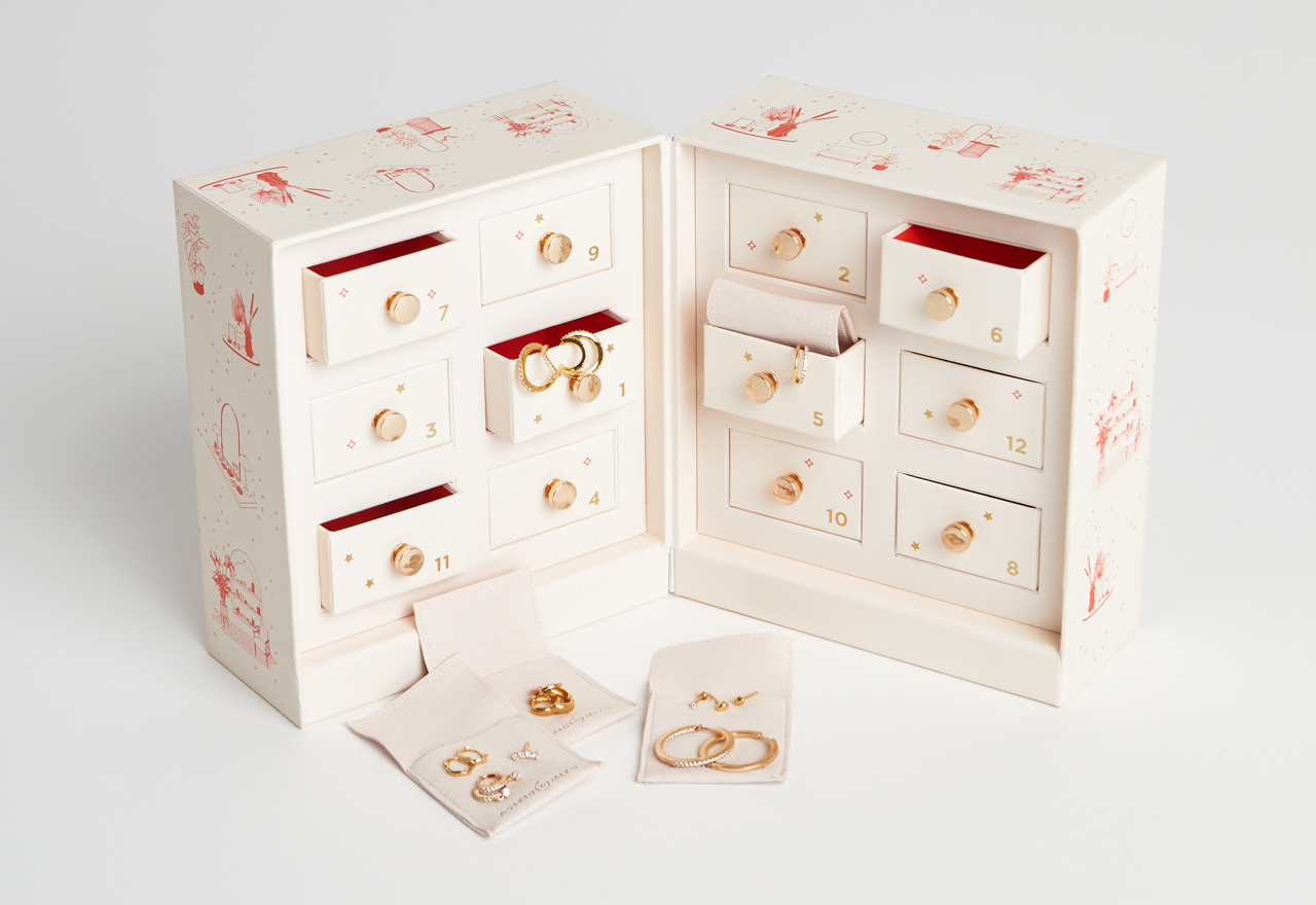 Astrid & Miyu drops first ever jewellery advent calendar