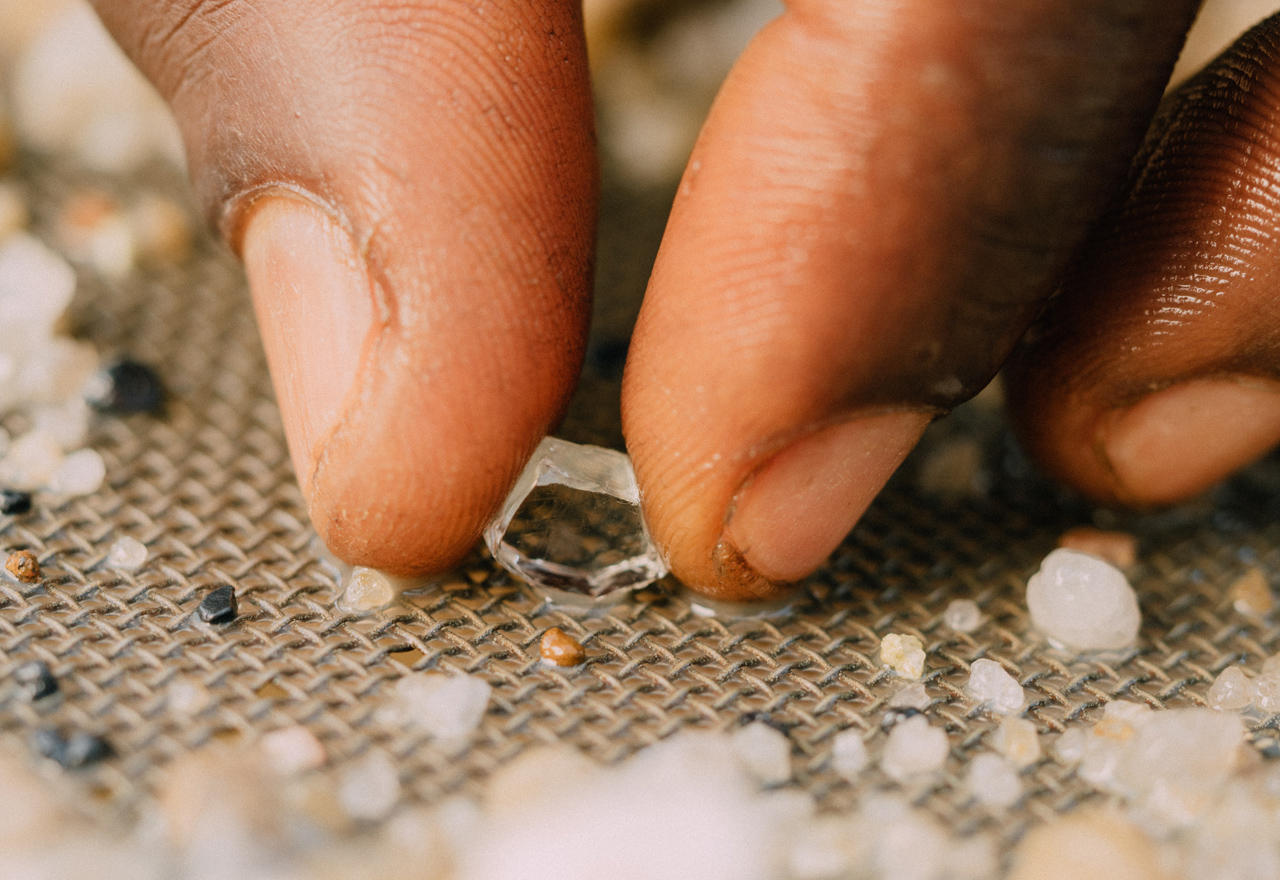 De Beers' GemFair brings very first ethically sourced ASM diamonds to market