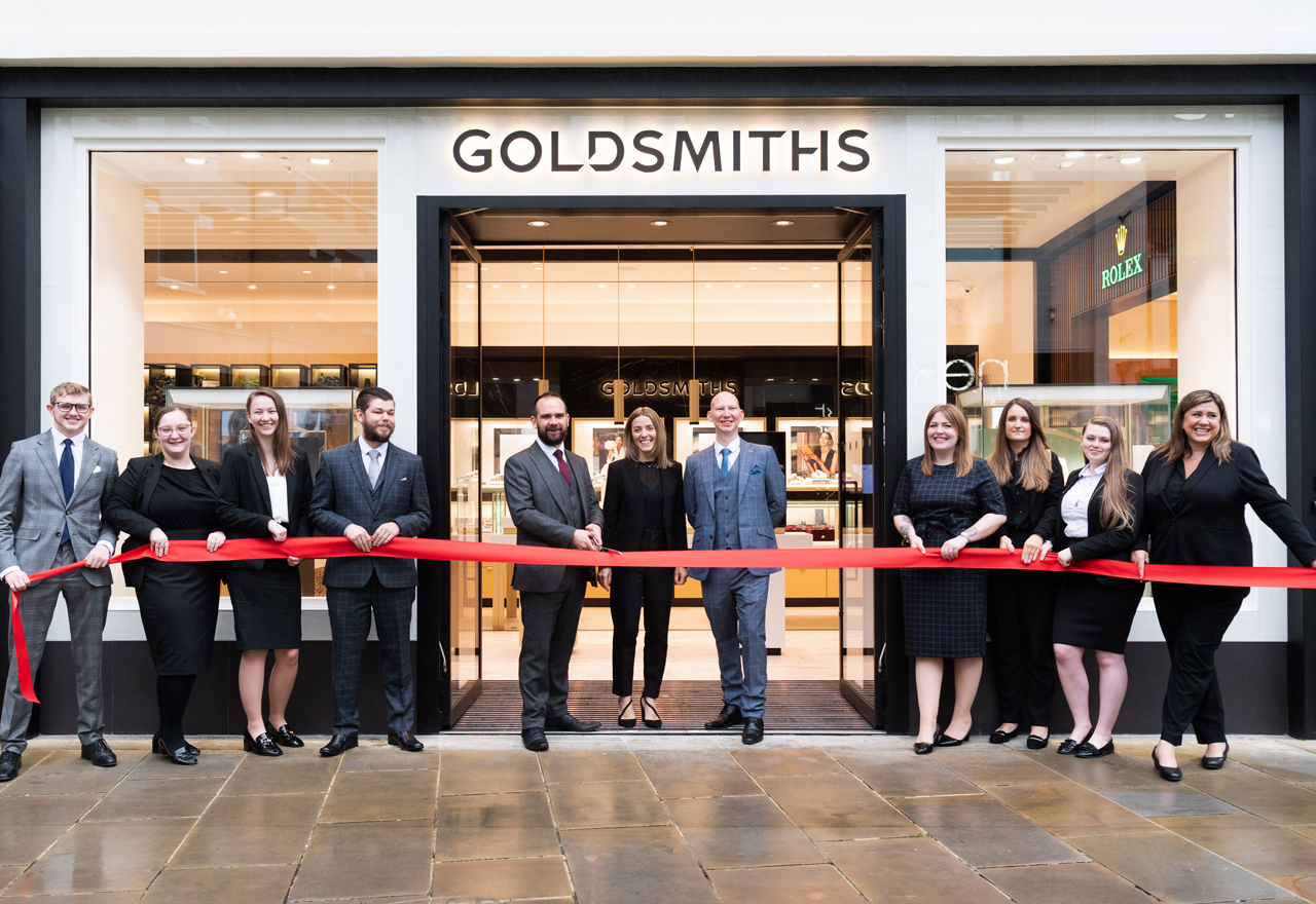 GALLERY: Goldsmiths debuts first revamped store in Canterbury